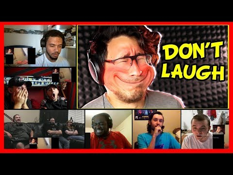Try Not To Laugh Challenge #7 By Markiplier REACTION MASHUP