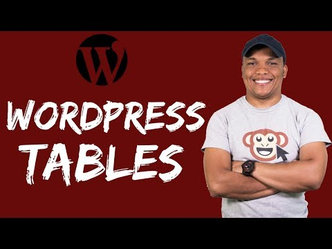 WordPress Tables - Build Tables in WordPress with Table Press Plugin thumbnail