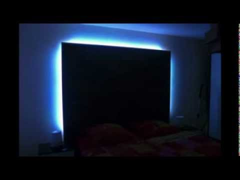 laminatwand f r das schlafzimmer selber gemacht youtube. Black Bedroom Furniture Sets. Home Design Ideas