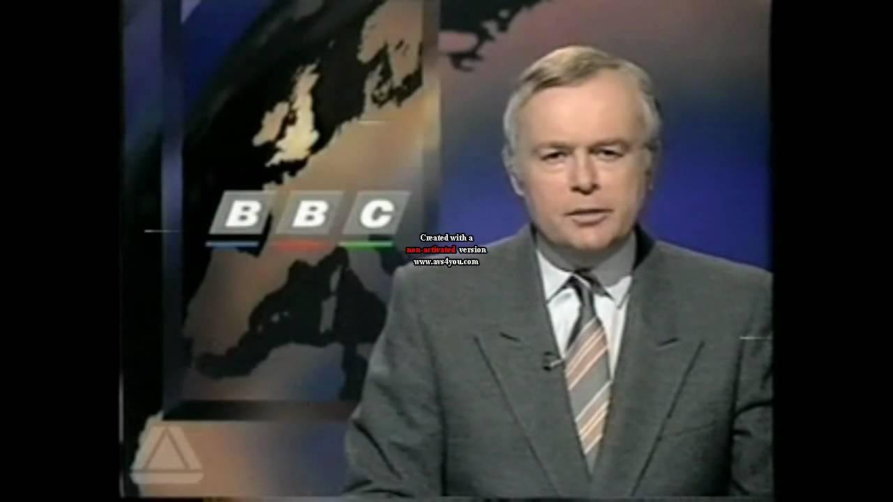 BBC News Photo: BBC Nine O'clock News 13/04/1993