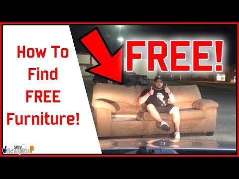How To Find Free Furniture!