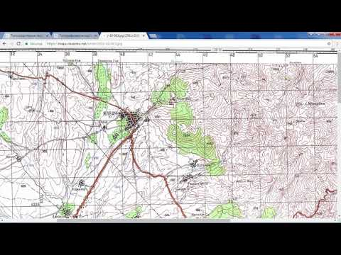 Download Soviet Military Topographic Maps YouTube - Military topographic maps
