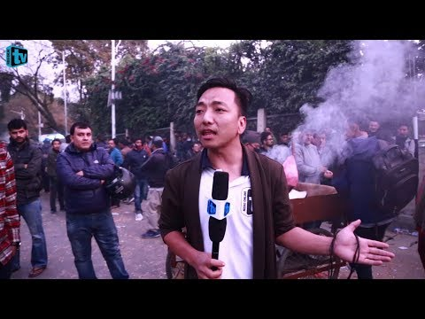 पार्टीका उम्मेदवार पछि परेपछि बोल्नै मानेनन् काँग्रेस कार्यकर्ता Vote Count|Nepal Election|