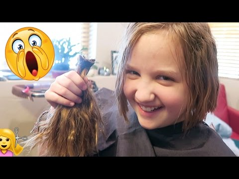 💇ASPEN CUT HER HAIR!!!