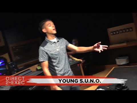 Young S.U.N.O. (@SunoSavage) Performs at Direct 2 Exec Los Angeles 9/12/17 - Atlantic Records