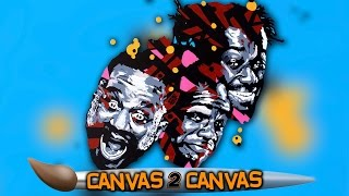 The World Famous Two-Time Champs hit the canvas: WWE Canvas 2 Canvas