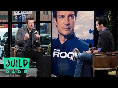"Nathan Fillion Talks ABC's ""The Rookie"""