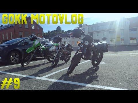 MOTOVLOG #9 | TRE SLAPPE MOPEDER PÅ TUR