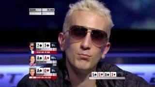 Европейский Покерный Тур 11. Лондон. Главное событие 4/7