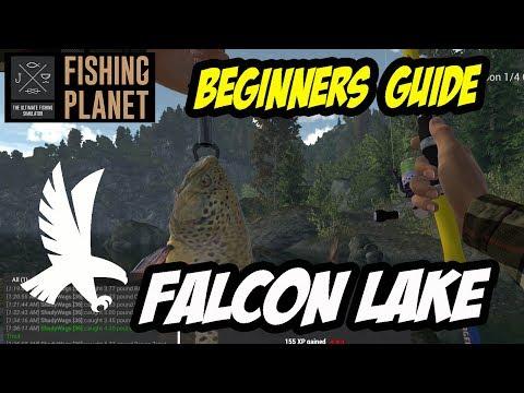Fishing Planet - Falcon Lake - Brown Trout Money Spot (2017)