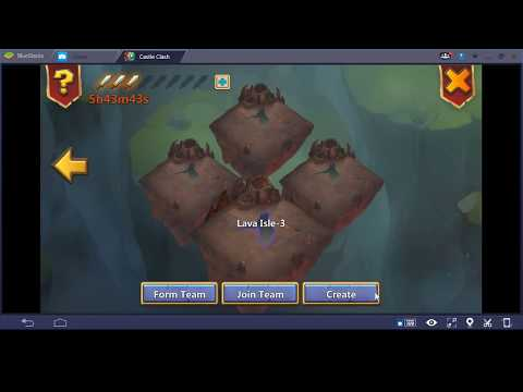 Explaining How To Make A Lava Isles Team!!! Castle Clash.