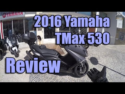 2016 Yamaha TMax 530 Review and Testride