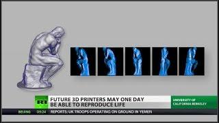 3D printer could print life