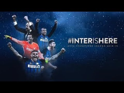 Inter in champions league - serie a 2017/18