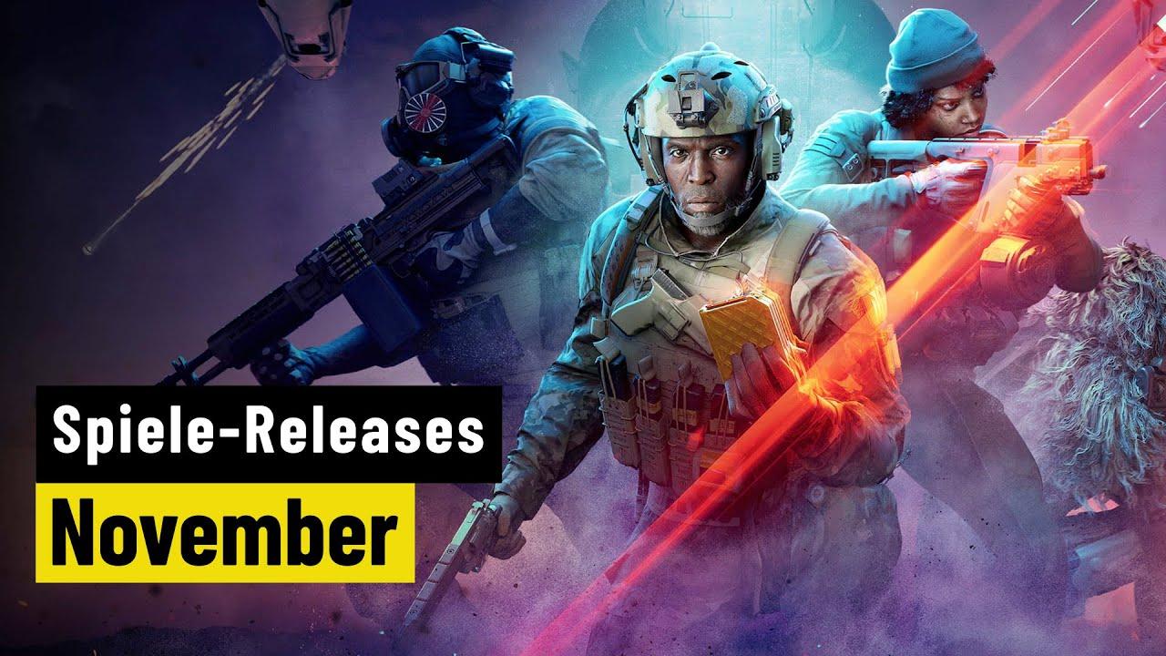 Spiele-Releases im November 2021 | Für PC und Konsolen