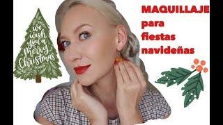 MAQUILLAJE para NAVIDAD y AÑO NUEVO 2019-2020/La Rusa Mas Mexicana