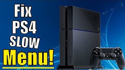 How to FIX PS4 slow menu and LAG | (5 Great Tips and More!)