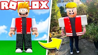 I WENT TO REAL LIFE ON ROBLOX!