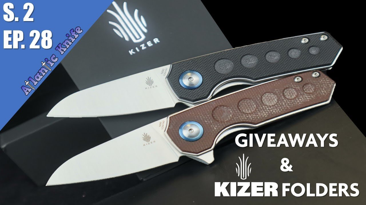 NEW Kizer & Fox Knives | Ak Blade S 2 Ep  28 | A Proponent & Trio of Penguins