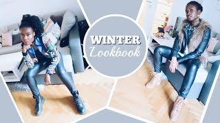 How to style: Leather pants/Winter Fashion Lookbook | ItsEjjy&Mary