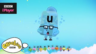 "Learn letter ""u"" with the Alphablocks Magic Words 