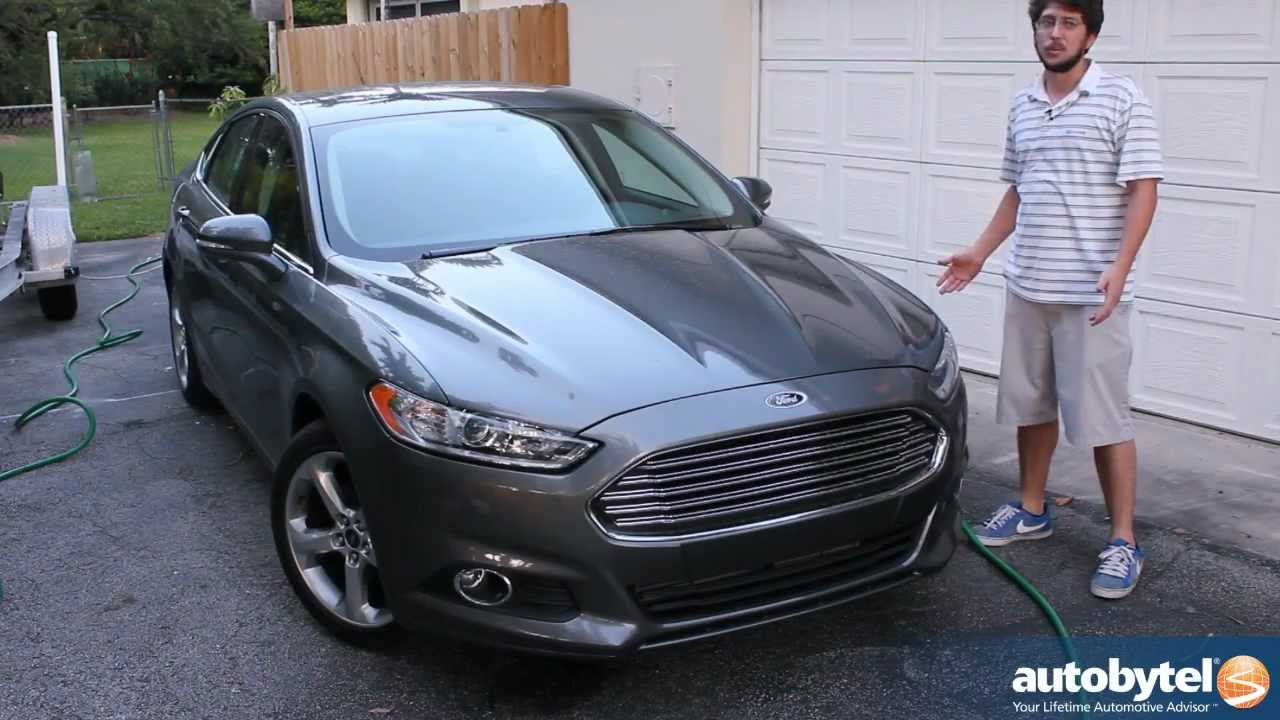 2013 ford fusion se ecoboost test drive car video review youtube. Black Bedroom Furniture Sets. Home Design Ideas