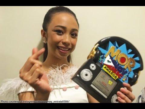 Maymay Entrata Nominado Bilang Female Arist Of The Year Sa MOR Pinoy Music Awards