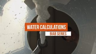 How to Calculate Water Volumes for Brewing