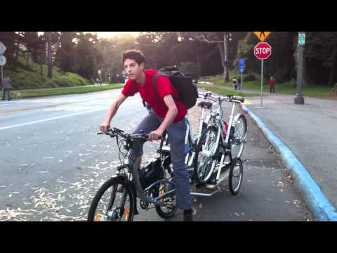 Transporting Ebikes by the Ohm Urban Ebike!