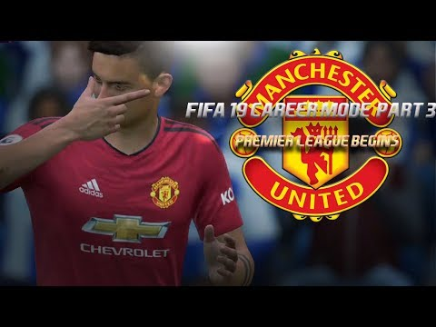 PAULO DYBALA MAKES HIS PRESENCE KNOWN | FIFA 19 Career Mode: Manchester United Part 3