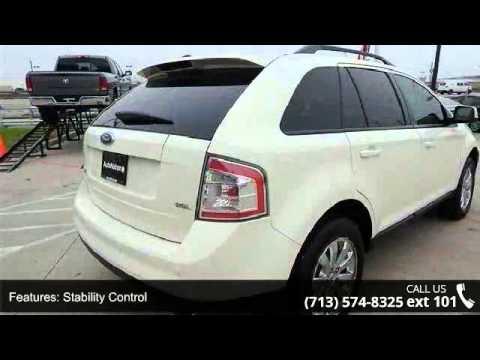 2007 Ford Edge SEL PLUS - AutoNation Toyota Gulf Freeway ...