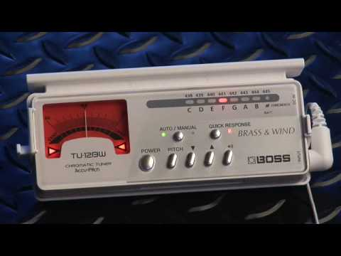 TU-12BW Tuner for Brass & Wind from BOSS