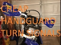 Cheap Dirt Bike Handguard Turn Signals