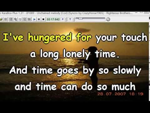 Righteous Brothers - Unchained melody (cori) (Ghost) (Syncro by CrazyHorse1965) Karabox - Karaoke