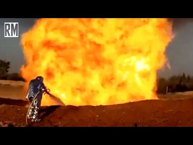 Terrorist Attack on Syrian Gas Pipeline