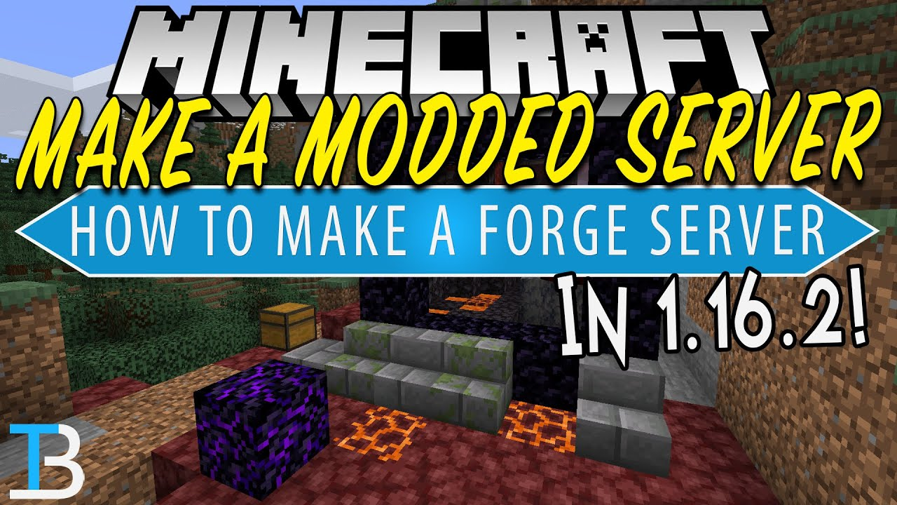 How To Make A Modded Server in Minecraft 9.96.9 (Make A 9.96.9 Forge  Server!)