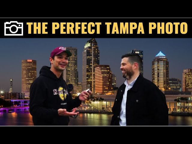 Tampa Skyline Photography - Where to get the perfect shot!