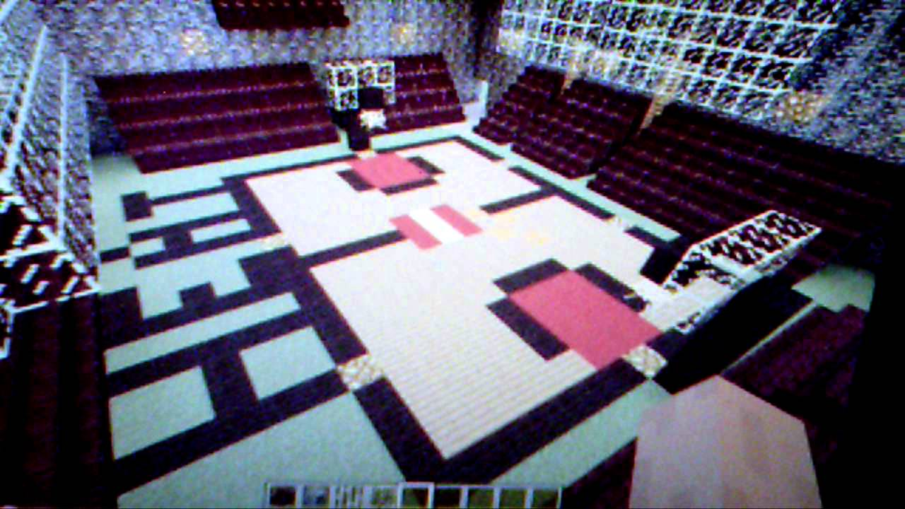 MineCraft Miami Heat Basketball Court - YouTube