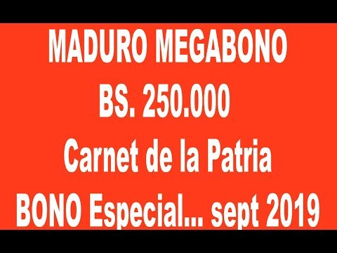 Ultimas Noticias De Venezuela Hoy: MADURO Lanza Mayor Bono$ Especial CARNET DE LA PATRIA En Historia