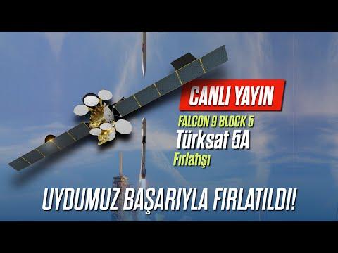 CANLI YAYIN - Falcon 9 Türksat 5A Fırlatışı