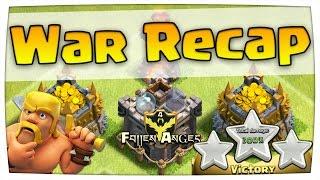3 STAR! Fallen Angels! | War Recap #3 | Clash of Clans [deutsch/german]