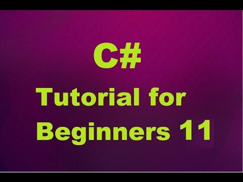 C# Tutorial for Beginners 11 - Introduction to C# Methods