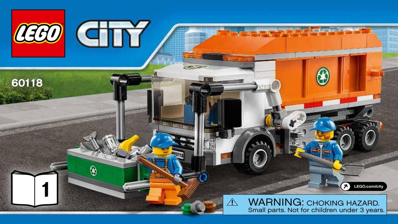 Lego City Recycling Truck Instructions Gallery Form 1040 Instructions