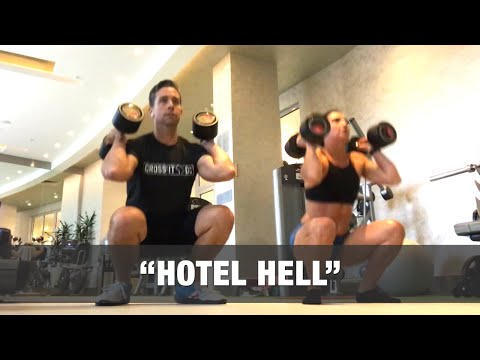 """""""HOTEL HELL"""" - Dumbbell CrossFit WOD (13:44 Rx)"""