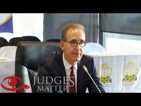 JSC interview of Adv D N Unterhalter SC for the Gauteng High Court (Judges Matter)