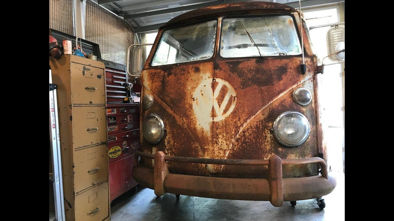 1962 Volkswagen Bus Vw Type 2 Restoration It S Alive Vw Panelvan Vw Kombi Vw Bus Youtube Volkswagen Bus Vw Bus Volkswagen