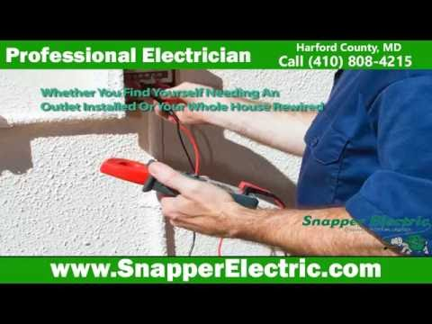 Electrician in Bel Air Snapper Electric