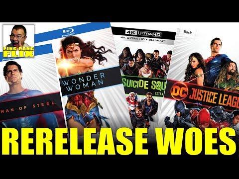 RERELEASE WOES – Wonder Woman 1984, DCEU Rereleases, The Batman