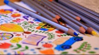 видео арт-терапия раскраски антистресс как раскрашивать