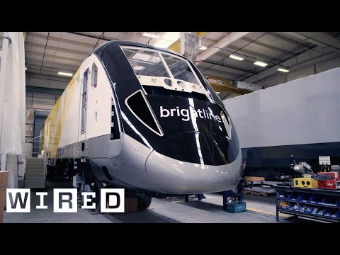 Inside the Massive Factory Where Siemens Builds Trains | WIRED